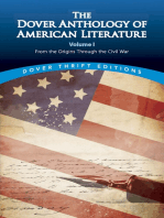 The Dover Anthology of American Literature, Volume I