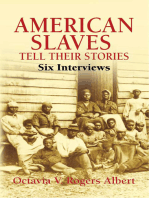 American Slaves Tell Their Stories