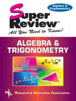 Algebra & Trigonometry Super Review