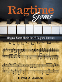 Ragtime Gems: Original Sheet Music for 25 Ragtime Classics