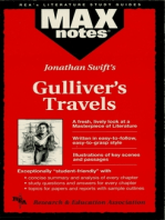 Gulliver's Travels (MAXNotes Literature Guides)