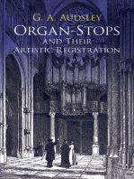 Organ-Stops and Their Artistic Registration
