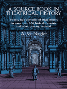 A Source Book in Theatrical History