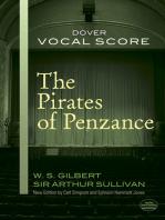 The Pirates of Penzance Vocal Score
