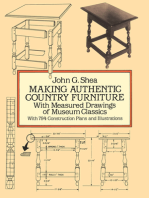 Making Authentic Country Furniture