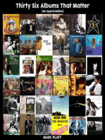 Thirty Six Albums That Matter (Pop Gallery eBooks, #3)