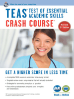 TEAS Crash Course Book + Online