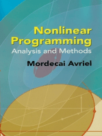 Nonlinear Programming: Analysis and Methods