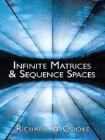 Infinite Matrices and Sequence Spaces