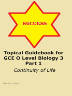 Topical Guidebook for GCE O level Biology 3 Part 1