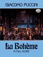 La Bohème in Full Score