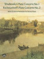 Tchaikovsky's Piano Concerto No. 1 & Rachmaninoff's Piano Concerto No. 2