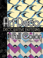 Art Deco Decorative Patterns in Full Color