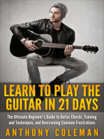 Learn to Play the Guitar in 21 Days