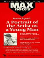 A Portrait of the Artist as a Young Man (MAXNotes Literature Guides)