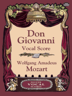 Don Giovanni Vocal Score