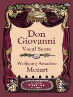 Don Giovanni Vocal Score