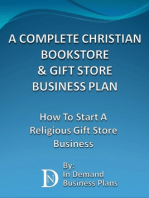 A Complete Christian Bookstore & Gift Store Business Plan