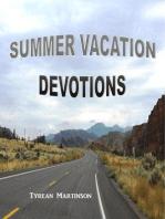 Summer Vacation Devotions