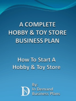 A Complete Hobby & Toy Store Business Plan