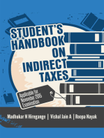 Student's Handbook on Indirect Taxes