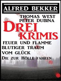 Bekker/West/Dubina - Drei Krimis: Feuer und Flamme/Blutiger Traum vom Glück/Die zur Hölle fahren