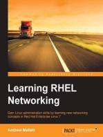 Learning RHEL Networking