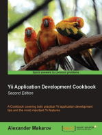 Yii Application Development Cookbook - Second Edition