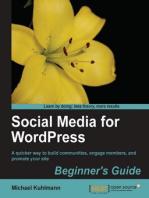 Social Media for WordPress Beginner's Guide