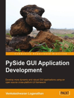 PySide GUI Application Development