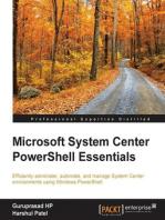 Microsoft System Center PowerShell Essentials