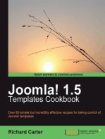Joomla! 1.5 Templates Cookbook