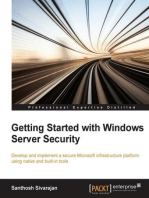 Getting Started with Windows Server Security