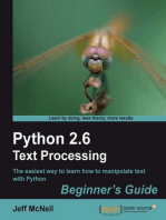 Python 2.6 Text Processing