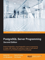 PostgreSQL Server Programming - Second Edition