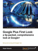 Google Plus First Look