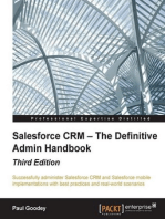 Salesforce CRM – The Definitive Admin Handbook - Third Edition