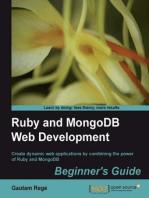 Ruby and MongoDB Web Development Beginner's Guide