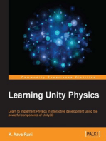 Learning Unity Physics