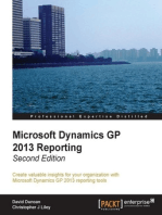 Microsoft Dynamics GP 2013 Reporting, Second Edition