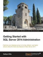 Getting Started with SQL Server 2014 Administration