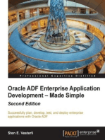 Oracle ADF Enterprise Application Development – Made Simple : Second Edition