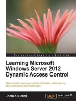 Learning Microsoft Windows Server 2012 Dynamic Access Control