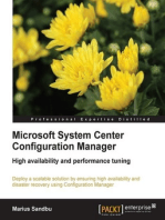 Microsoft System Center Configuration Manager High availability and performance tuning