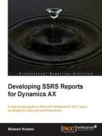 Developing SSRS Reports for Dynamics AX