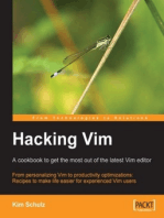 Hacking Vim