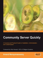 Community Server Quickly