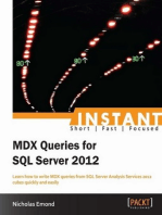 Instant MDX Queries for SQL Server 2012