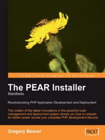 The PEAR Installer Manifesto