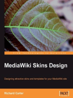 MediaWiki Skins Design